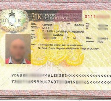 Получение визы инвестора в Великобританию: основные условия и порядок оформления документов для граждан стран СНГ
