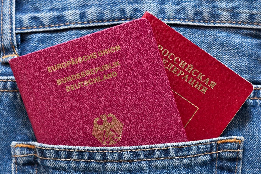 Двойное подданство — Россия и Германия