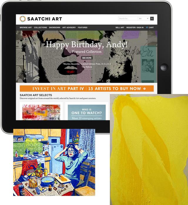 Популярная платформа для торговли арт-объектами SaatchiArt
