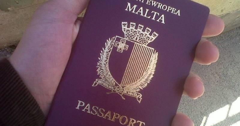 Так выглядит паспорт мальтийского гражданина