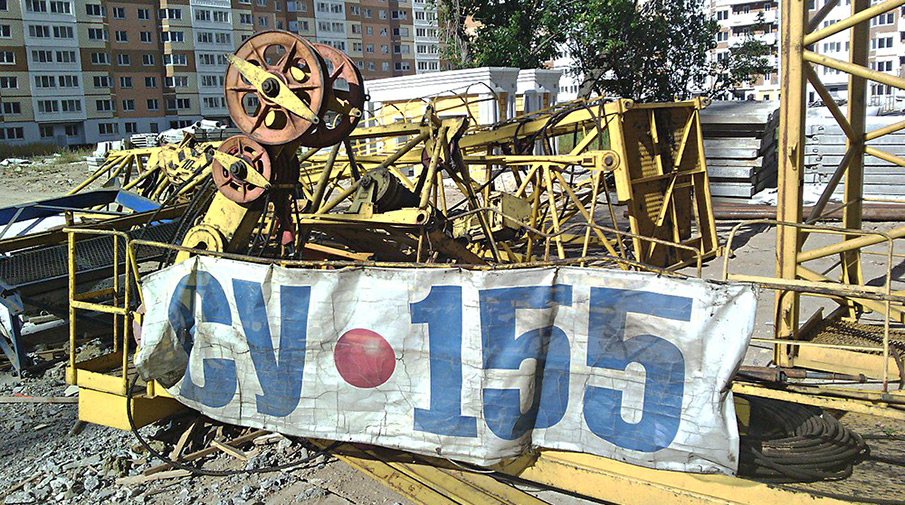 Заброшенная стройка СУ-155