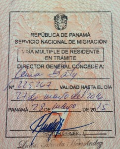 Виза на 1 год резидента Панамы (ВНЖ)