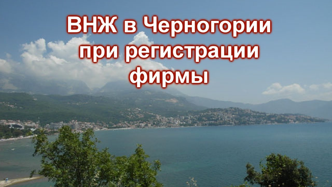 ВНЖ в Черногории при регистрации бизнеса