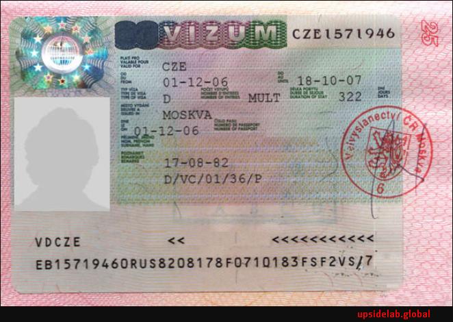 Бизнес-виза в Чешскую Республику