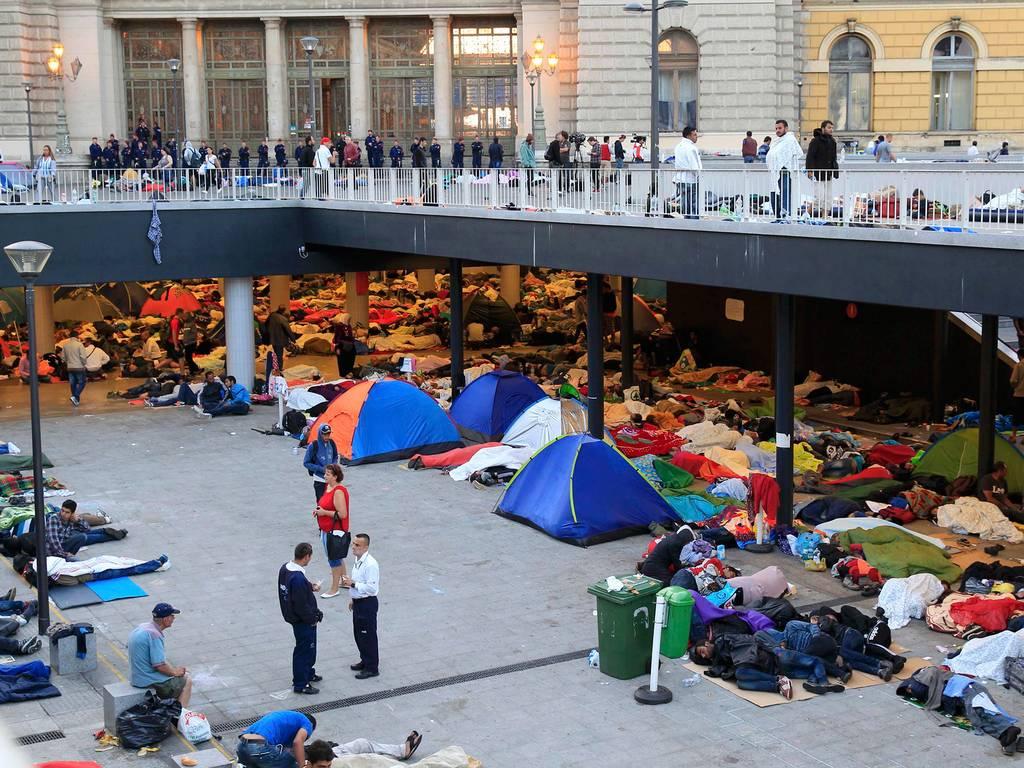 Кризис в Германии - миграция