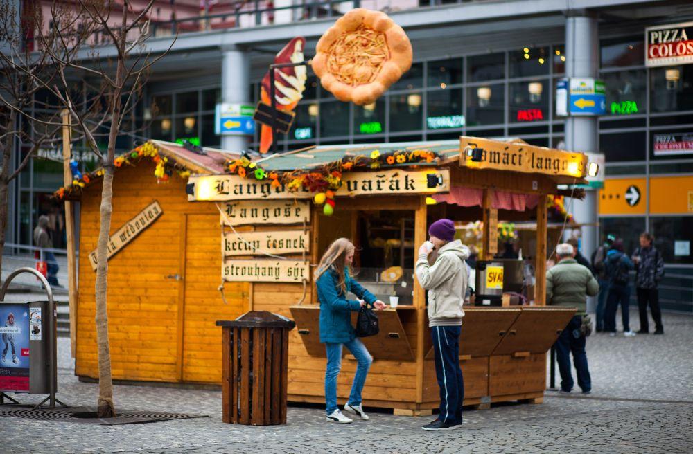 Открытие ларька или магазина в Чехии