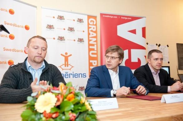 """Программа грантов """"Atspēriens"""" предусматривала выплату победителю в размере 98 тыс. латов, что эквивалентно примерно 154 тыс. долларов"""