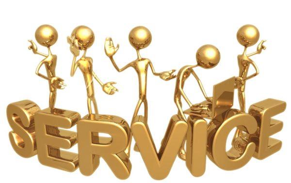 Организации сферы услуг