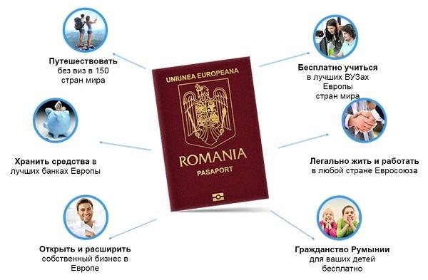 Преимущества румынского подданства