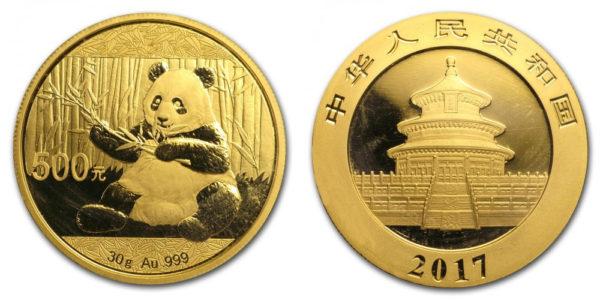 Китайская инвестиционная монета