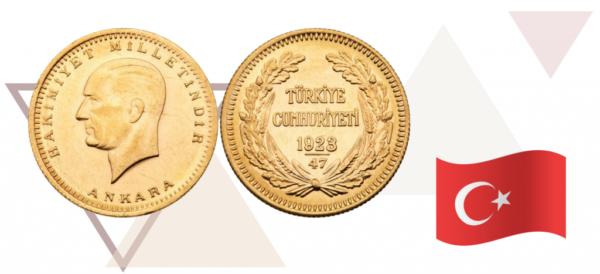 Турецкая инвестиционная монета