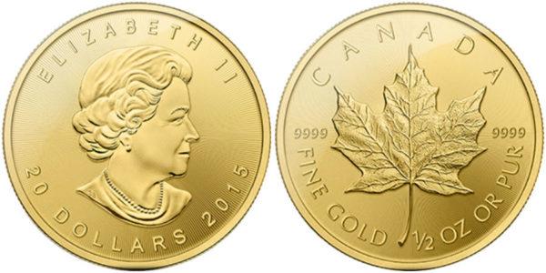 Канадская инвестиционная монета