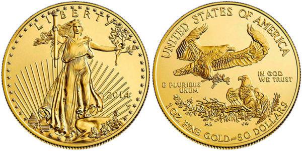 Американская инвестиционная монета