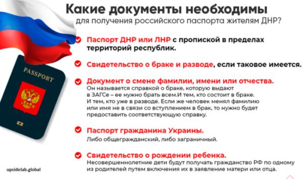Какие документы необходимо предоставить гражданам ЛНР и ДНР при переезде в РФ
