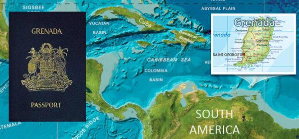 Место расположения Гренады