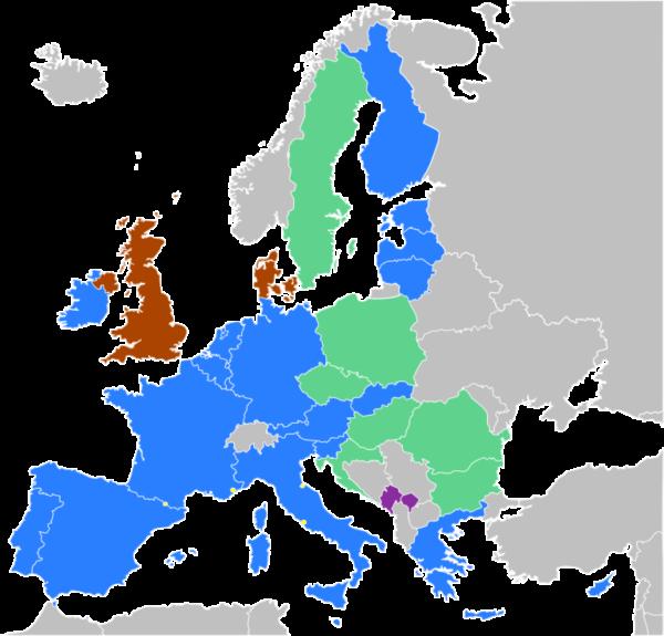 Зона Евросоюза