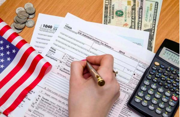 Налоговая декларация по подоходному налогу в США