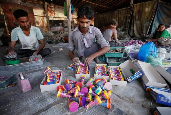 Труд рабочих в Индии