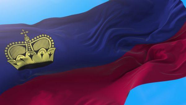 Флаг Княжества Лихтенштейна