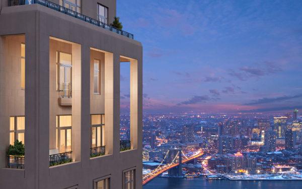 Дом в Нью-Йорке с видом на город