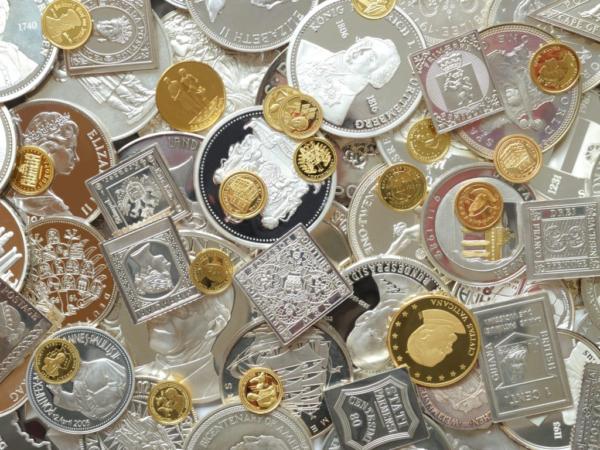 Инвестиции в монеты из драгоценных металлов