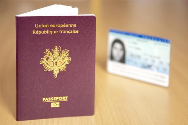 Гражданский паспорт Франции