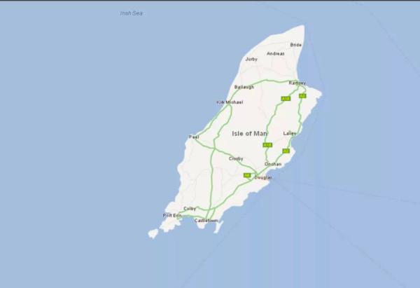 География острова Мэн для оффшоров